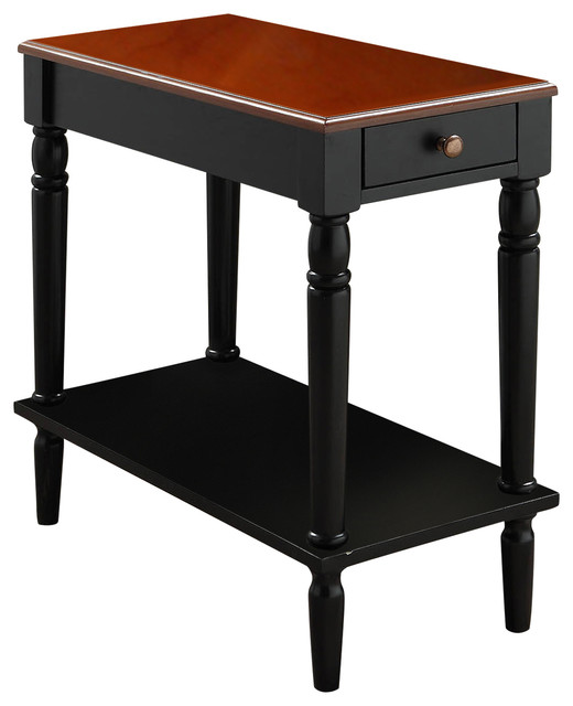 French Country Side Table Transitional Side Tables And End Tables By Convenience Concepts