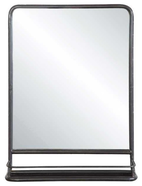 Nora Mirror With Shelf. -1