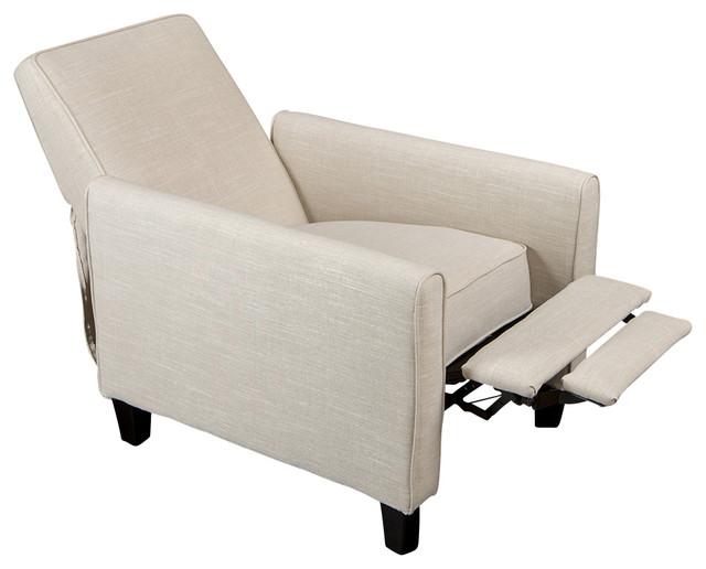 Jamestown Design Recliner Club Chair modern-living-room-chairs  sc 1 st  Houzz : modern recliner - islam-shia.org