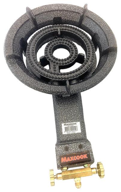 Maxcook Cast Iron Propane Gas Single Burner Stove.