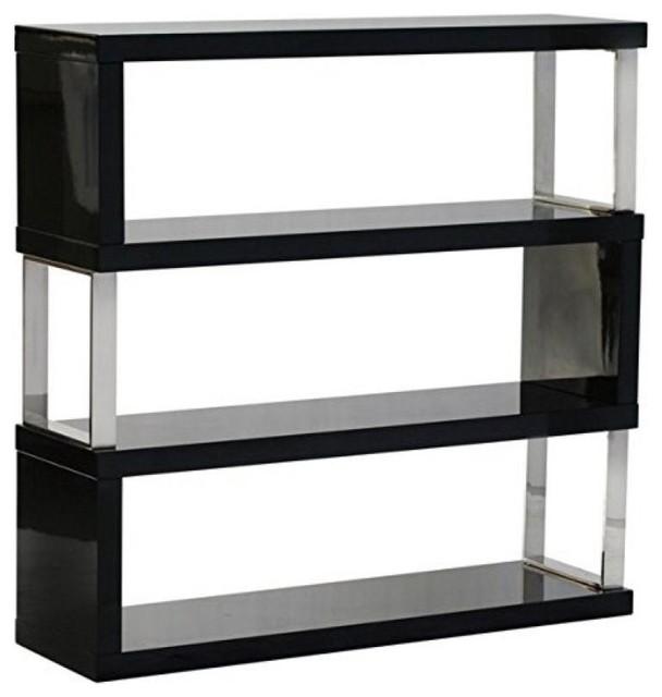 Diamond Sofa Low Profile Shelf Unit By Diamond Sofa