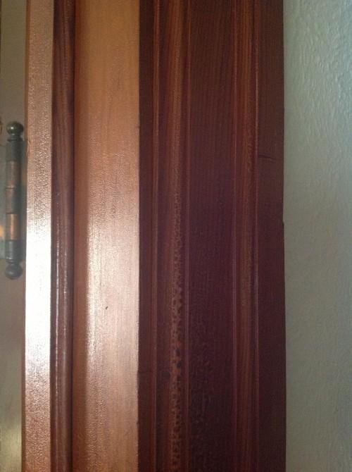 Refinishing old trim and doors on 1920 39 s era house for 1920s door design
