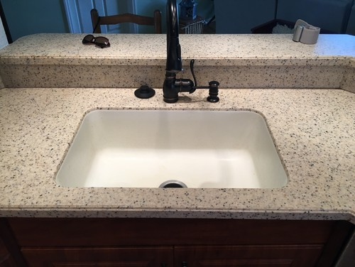 bathroom countertops with sink built in corian integrated sink countertops pros cons 24860