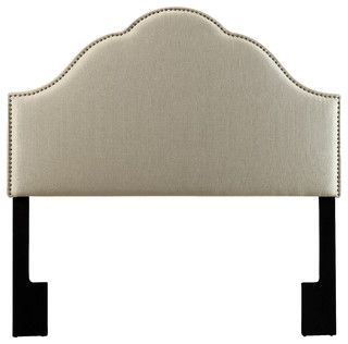 Pulaski Headboard, Tuxedo Oatmeal, King