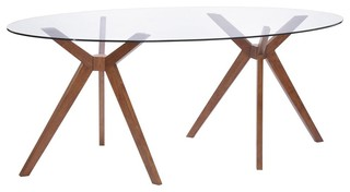 Benton Dining Table Midcentury Dining Tables By Plaidfox