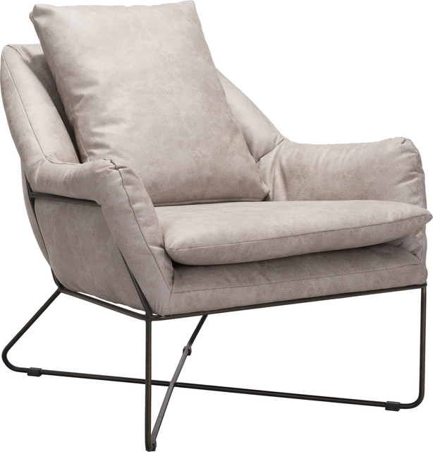 Fabulous Finn Lounge Chair Distressed Gray Unemploymentrelief Wooden Chair Designs For Living Room Unemploymentrelieforg