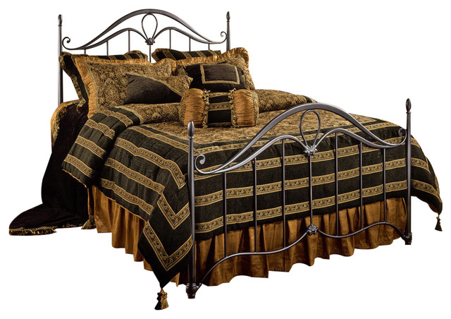 Kendall Bed Set, Full, Without Rails.
