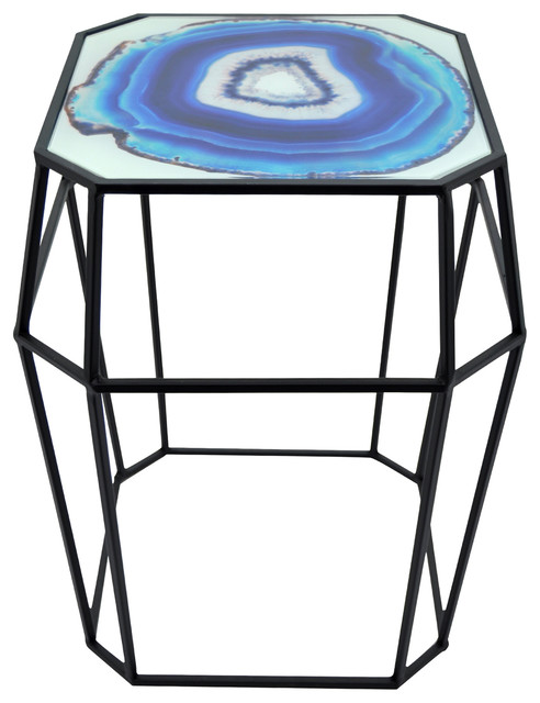 awesome Three Hands End Table Part - 13: Three Hands Metal End Table