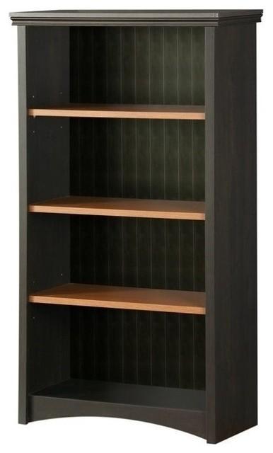 Atlin Designs 4-Shelf Bookcase, Ebony