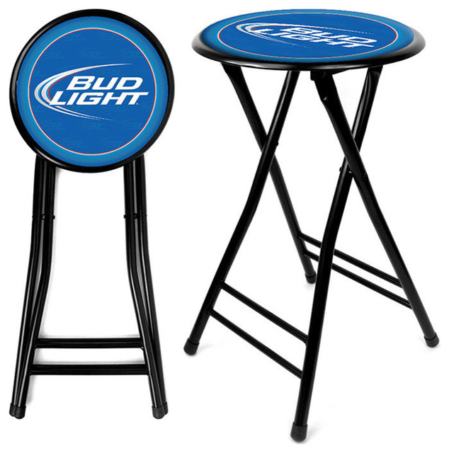 Bud Light Cushioned Folding Stool B.O.G.O. contemporary-folding-chairs-and- stools  sc 1 st  Houzz & Bud Light Cushioned Folding Stool B.O.G.O. - Contemporary ... islam-shia.org