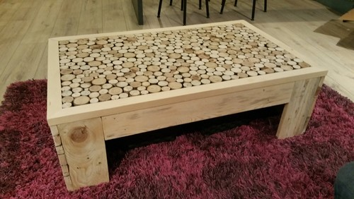 Fabrication table basse maison - Table a manger palette ...