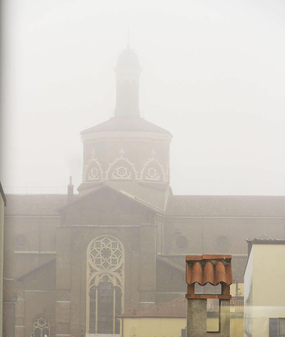 vista nella nebbia