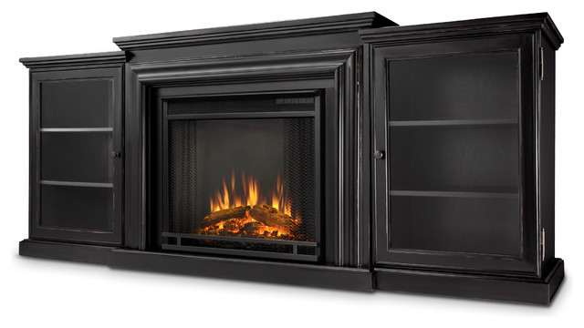 Frederick Electric Fireplace Entertainment Unit View In Your Room Houzz