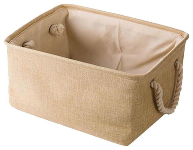 36x26x16 Cm, Linen Storage Basket.