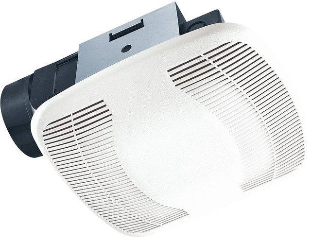 Air King Exhaust Fan With 100 Cfm Pc/abs Polymeric Housing In White.