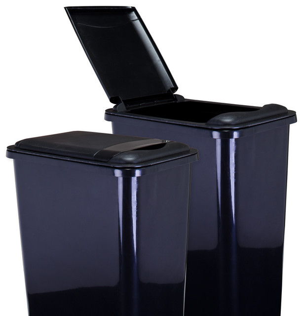 Lid For 50 Quart Plastic Waste Container Can 50lid Contemporary