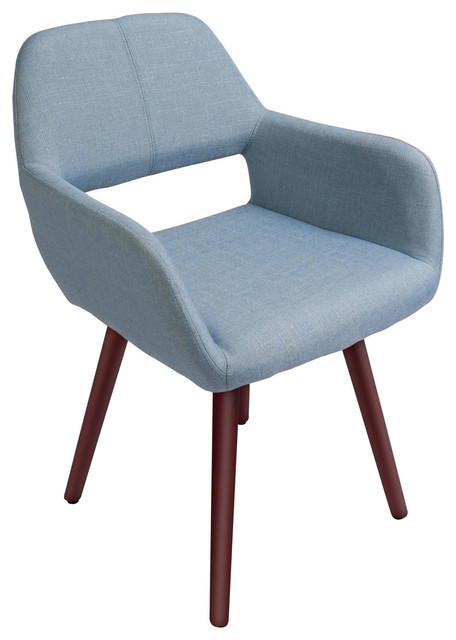 Innovex Home Products Florence Accent Chair, Soft Blue by Living Essentials Corp.