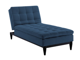 Sealy Montreal Chaise Convertible - Midcentury - Indoor ...