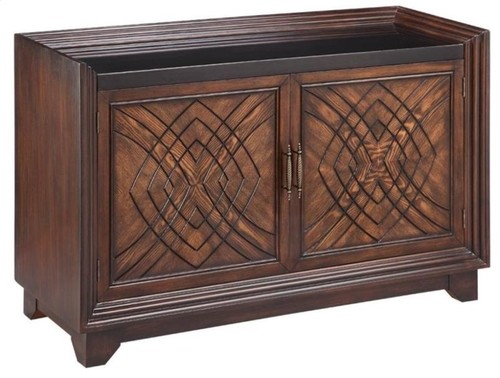 Stein World Barrington Walnut Accent Cabinet