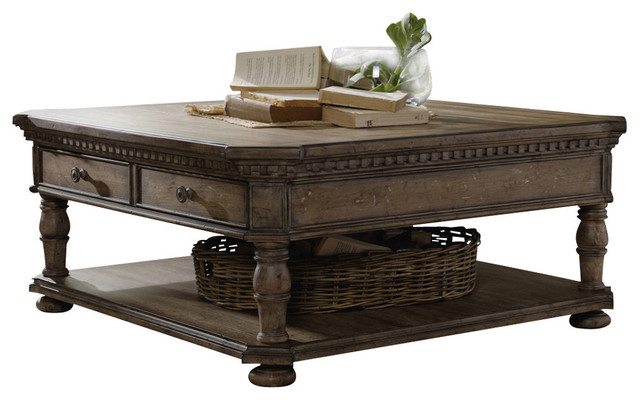 Sorella Rectangle Tail Table Traditional Coffee Tables