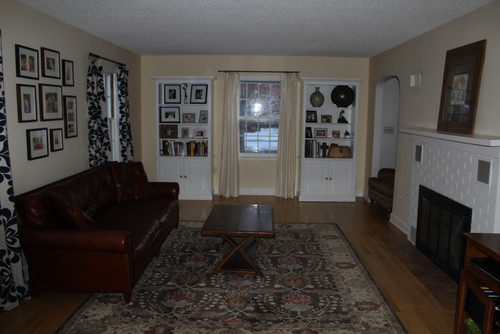 Living Room 1940s need help creating an eclectic living room in my 1940s house