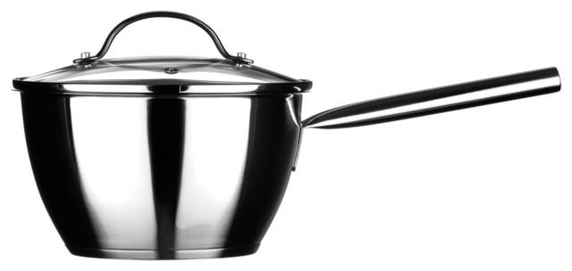 Tenzo Stainless Steel Saucepan, Large.