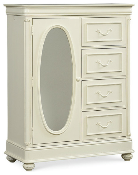 legacy classic kids charlotte door chest antique white