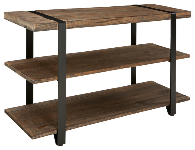 reclaimed wood console table uk media rustic natural industrial tables for sale toronto