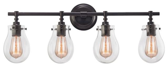 Modern Farmhouse 4 Light Vanity