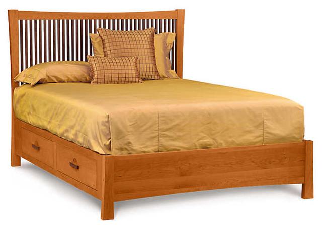 Berkeley Bed With Storage By Copeland Furniture Craftsman
