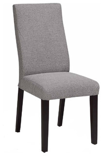 Fabric Dining Chair With Ergonomic Back