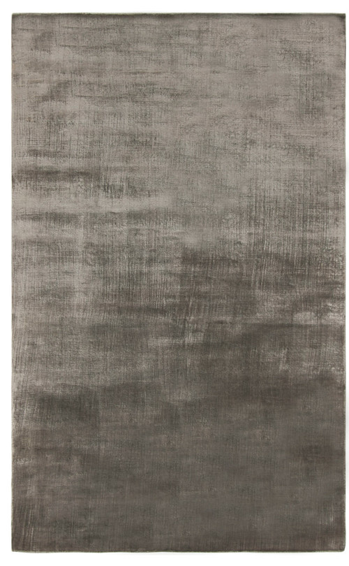 Studio Seven Hand Loomed Area Rug, Steel, 4'x6'