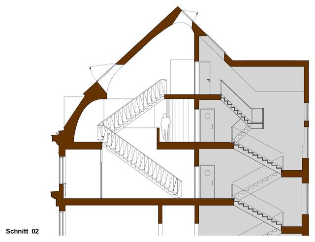 Grundriss Schnitt Ansicht Architekturzeichnungen Richtig Lesen