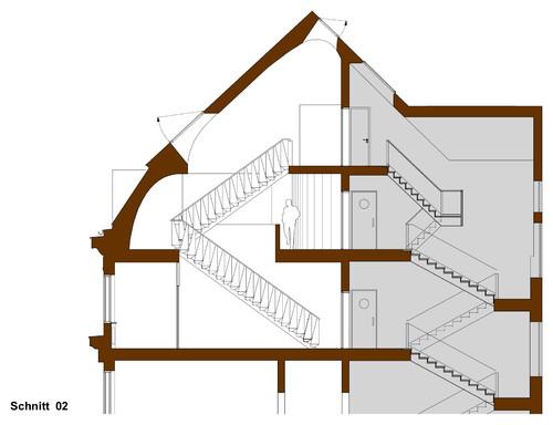 Grundriss Schnitt Ansicht Architekturzeichnungen Richtig