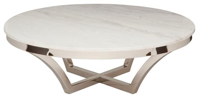 Nuevo Living Aurora Marble Coffee Table View In Your Room Houzz - Nuevo marble coffee table