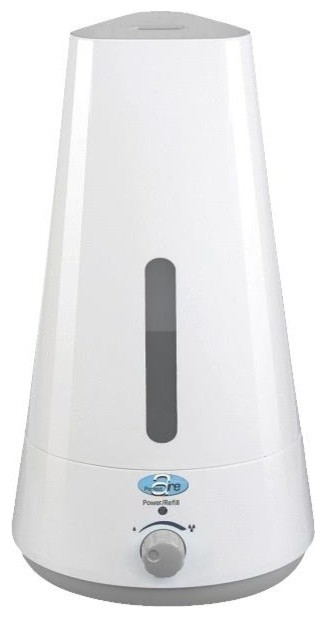 Perfect Aire Tabletop Micro Mist Ultrasonic Humidifier, 20 Watts.