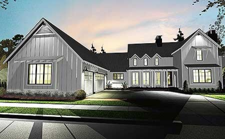 Need Help With Colors For Modern Farmhouse Exterior