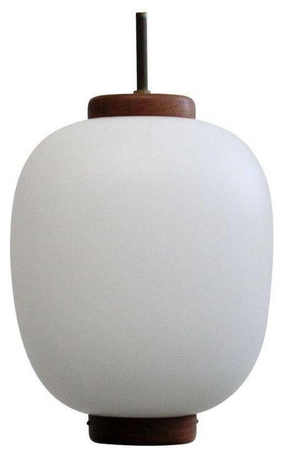 Vintage danish white glass oval ceiling light vintage danish white glass oval ceiling light contemporary pendant lighting mozeypictures Images