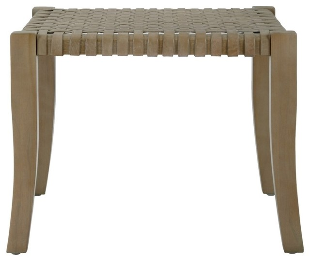 Groovy Stool Sasha Woven Leather Alphanode Cool Chair Designs And Ideas Alphanodeonline