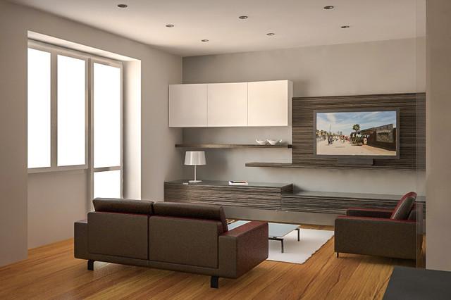Prospettiva salotto moderno cagliari di graziano for Accessori salotto moderno