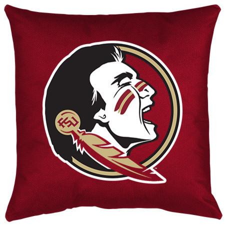 Ncaa Sports Team Locker Room Toss Pillow, Florida State.