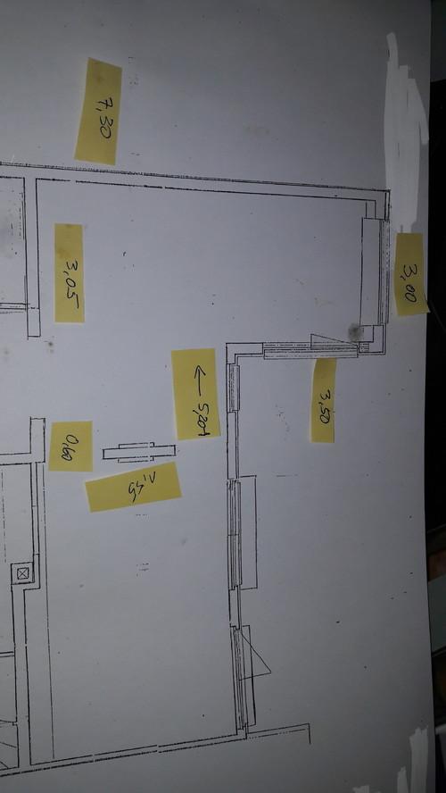 Küche - wie stelle ich Zeile und Kochinsel am besten?