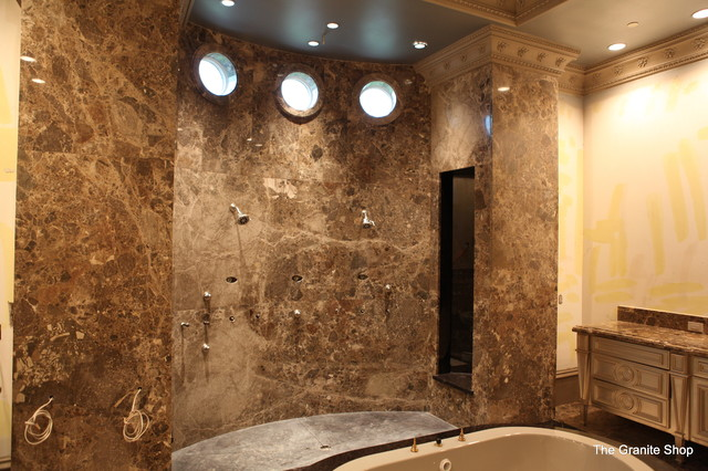 Modern Slab Bathroom Floor With Design U0026 Slab Shower Modern Bathroom