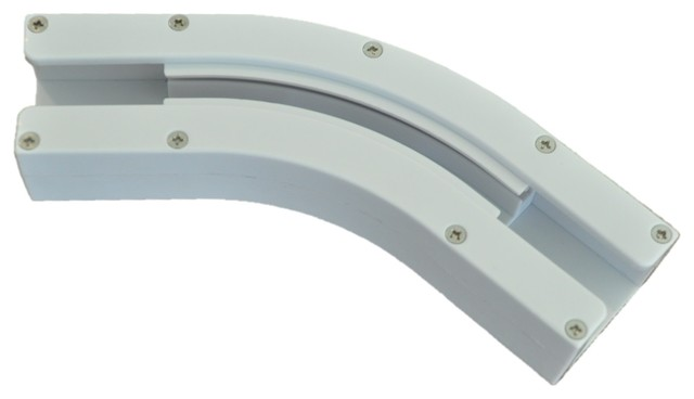 Bay Window 135 Degree Curved Track.