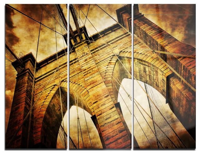 Brooklyn Bridge Metal Wall Art – Wall Murals Ideas