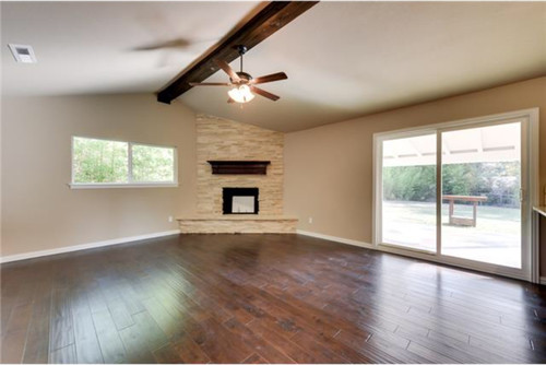 ... It With The Fireplace. We Had An 8x10 Footnrug Picked Out But Thought  It Might Look Too Small. Any Ideas? What Size Rug Would You Put In This  Room?