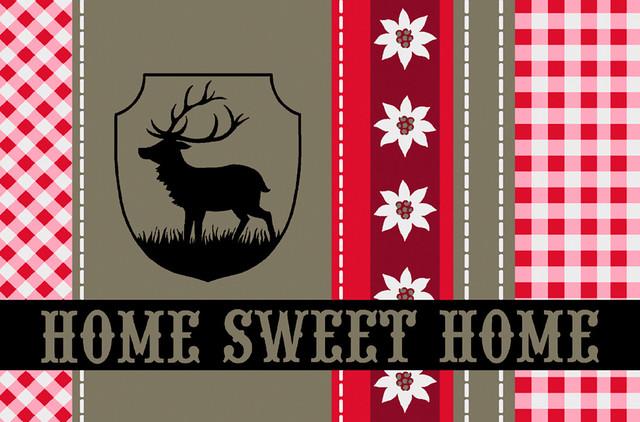 Home Sweet Home Gallery Door Mat, Small
