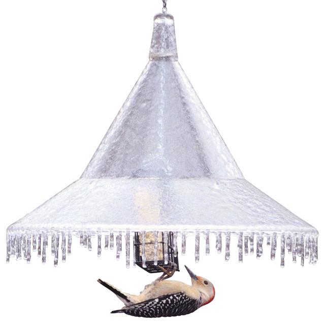 Mandarin Hanging Baffle - Traditional - Bird Feeders - by ...