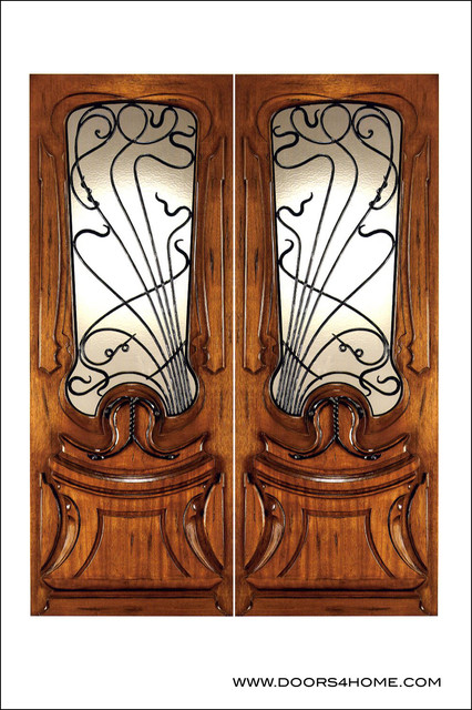 Art Nouveau Entry Doors Model # AN 2014