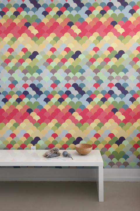 Fishwall ~ Pattern Wall Tiles modern decals